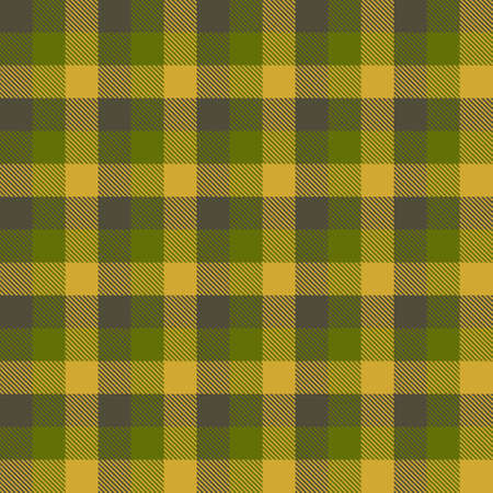 Tartan Seamless Pattern Background. Fall color panel Plaid, Tartan Flannel Shirt Patterns. Autumn Trendy Tiles Vector Illustration for Wallpapers. Banque d'images - 154635427