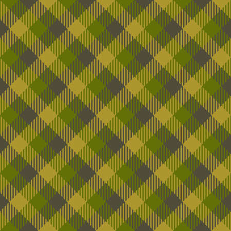 Tartan Seamless Pattern Background. Fall color panel Plaid, Tartan Flannel Shirt Patterns. Autumn Trendy Tiles Vector Illustration for Wallpapers. Banque d'images - 154635438