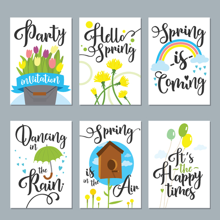 Spring card set with spring quotes perfect for greeting cards spring card set with spring quotes perfect for greeting cards sale badges scrapbook m4hsunfo