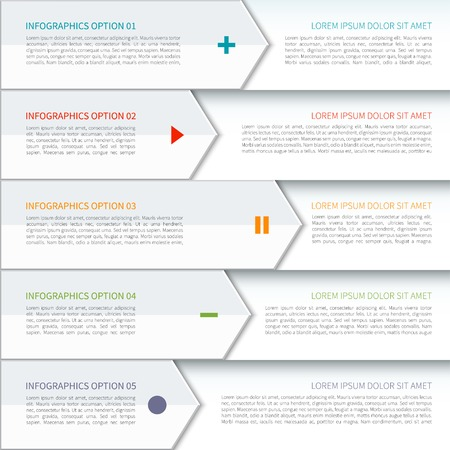 Modern arrow elements of infographic Imagens - 36511659