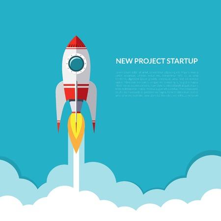 Raketenstart Standard-Bild - 38777341