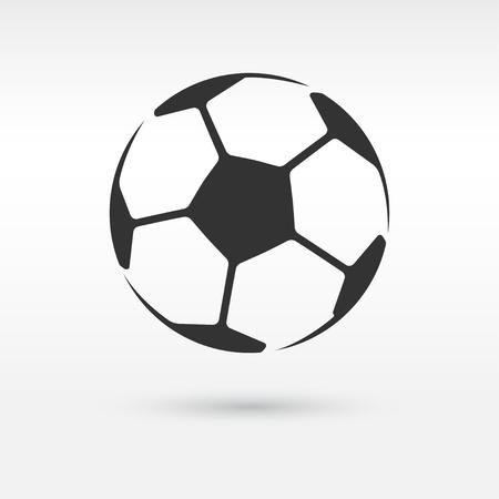 Football or soccer ball icon Vektorové ilustrace