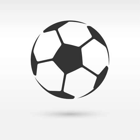 Football or soccer ball icon