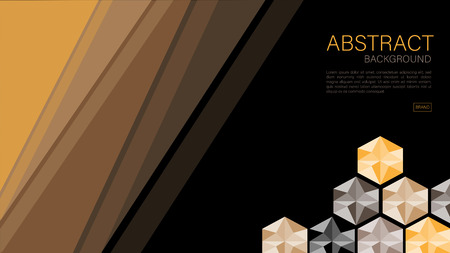Geometric background vector, polygonal graphic, Minimal Texture, cover design, flyer template, banner, web page, book cover, advertisement, printing template, Black concept, decoration wallpaper.