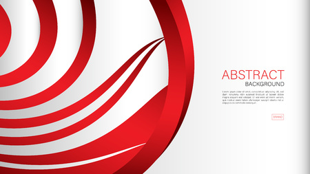 Red abstract background, Geometric vector, cover design, flyer template, banner, web page, book cover, advertisement