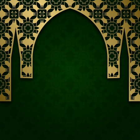 Background with traditional ornament. Cover decoration for greetings.
