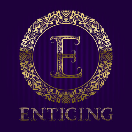 Golden template for enticing boutique.