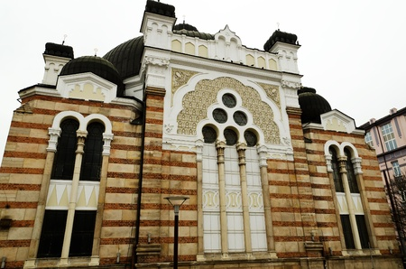 Sofia sephardic Synagogue - largest synagogue in Southeastern Europe , Bulgaria, Balkans, and third-largest in Europe Stock Photo - 13241380