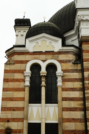 Sofia sephardic Synagogue - largest synagogue in Southeastern Europe , Bulgaria, Balkans, and third-largest in Europe Stock Photo - 13241376