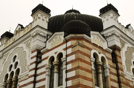 Sofia sephardic Synagogue - largest synagogue in Southeastern Europe , Bulgaria, Balkans, and third-largest in Europe photo