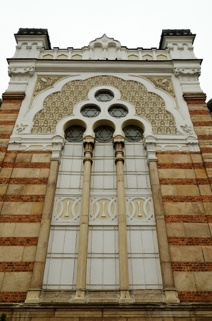 jewish houses: Sofia sephardic Synagogue - largest synagogue in Southeastern Europe , Bulgaria, Balkans, and third-largest in Europe