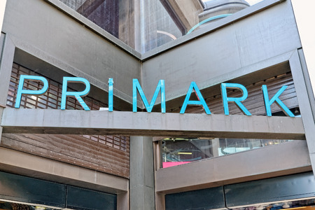 LONDON - JULY 1, 2014. Primark store in London on July 1, 2014. Primark is an Irish clothing retailer, operating in Austria, Belgium, Germany, Ireland, Portugal, Spain, the Netherlands and the UK. Editorial