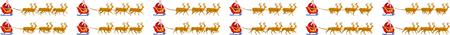 Santa Claus Sleigh animation sprite sheets, Reindeer, Christmas deer, Christmas,Gifts