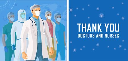Thank you Doctors, Nurses and healthcare professionals