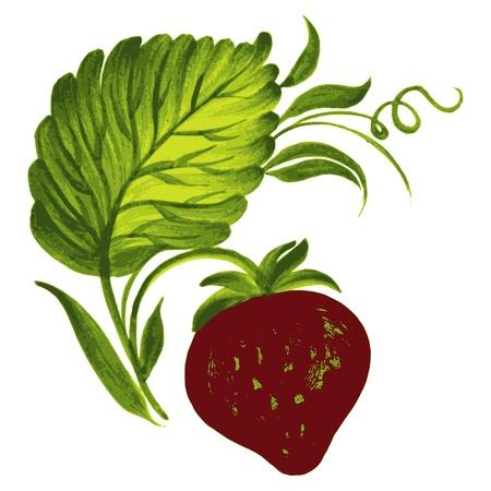 illustration in Ukrainian folk style Stock Vector - 20210293