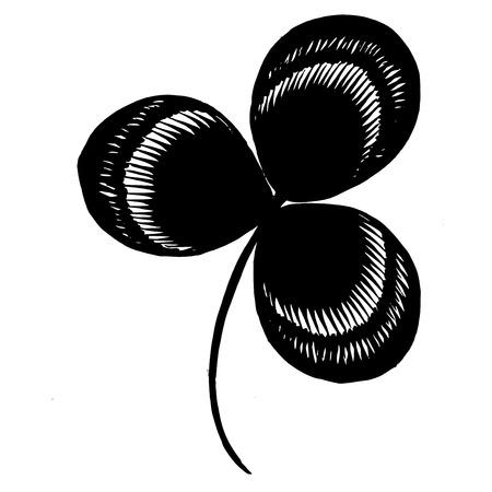 ethnics: hand drawn, ornamental, black silhouette in grunge style