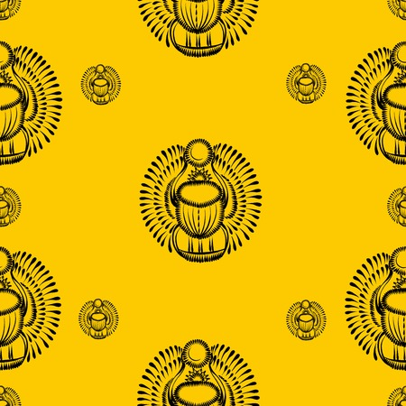 coloured seamless pattern with motive of flower Иллюстрация