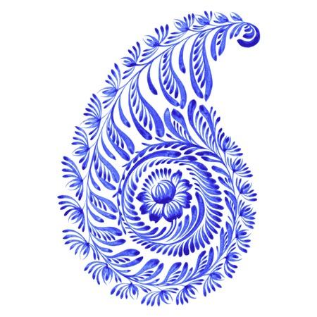hand drawn illustration in Ukrainian folk style Vector
