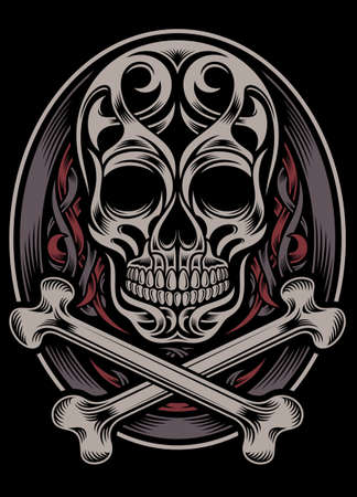 Skull and Crossbones Stock Vector - 24251615