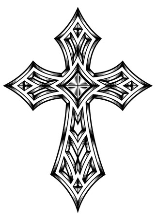 kruzifix: Wappenkreuz
