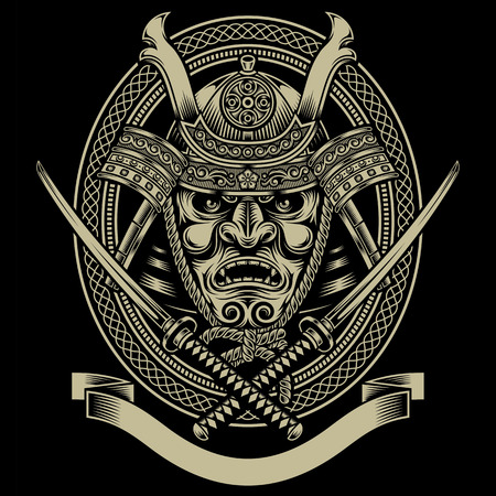 samoerai: Samurai krijger met Katana Zwaard