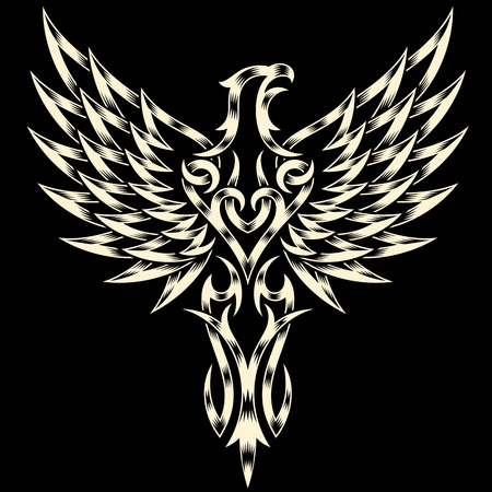 bird  celtic: Heraldry Eagle