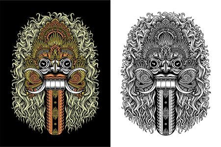 Balinese Demon Masker