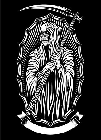 Grim Reaper Vector Art Vectores