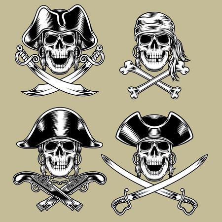 해적 두개골