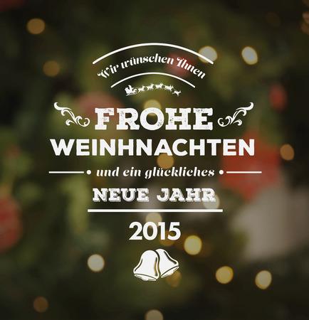 digitally  generated: Digitally generated Happy new year in German