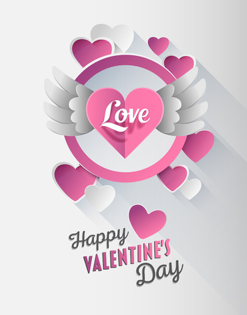 generated: Digitally generated valentines day vector