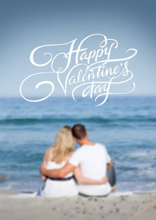 digitally generated: Digitally generated Valentines day vector