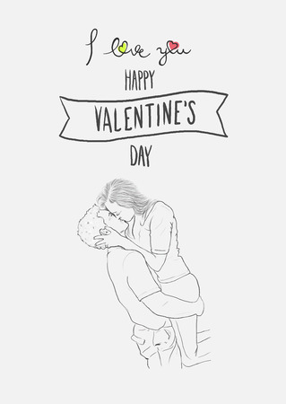 digitally generated: Digitally generated Valentines day vector