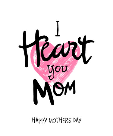 digitally: Digitally generated Mothers day vector