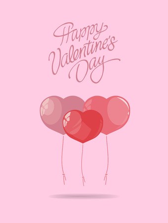 pink: Digitally generated Valentines day vector