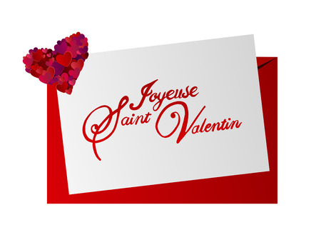 day saint valentin: Digitally generated Valentines day vector