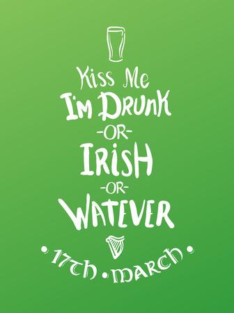 im: Digitally generated St Patricks day greeting vector Illustration