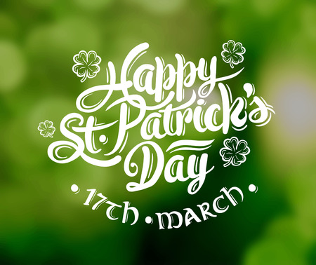 patricks day: Digitally generated St patricks day greeting vector Illustration