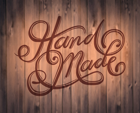 cursive: Digitally generated Handmade cursive font vector