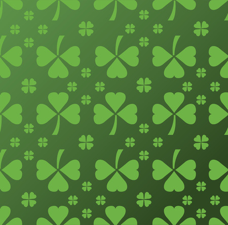 st  patty: Digitally generated Shamrock pattern vector