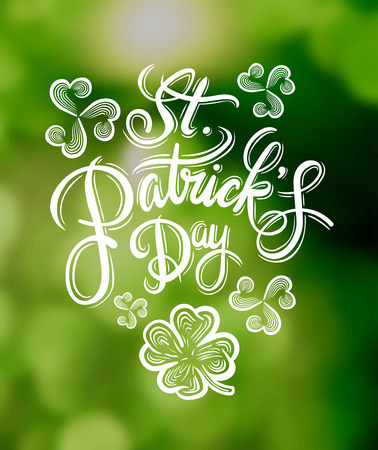 Digitally generated St patricks day greeting vector Illustration