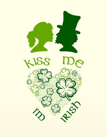 digitally generated: Digitally generated St patricks day greeting vector Illustration