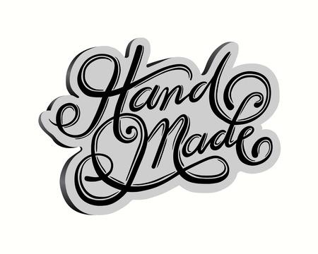 digitally: Digitally generated Handmade cursive font vector