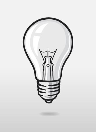 generated: Digitally generated Light bulb vector Illustration