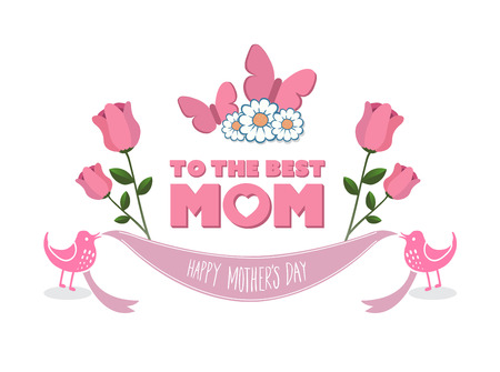digitally generated: Digitally generated Mothers day vector