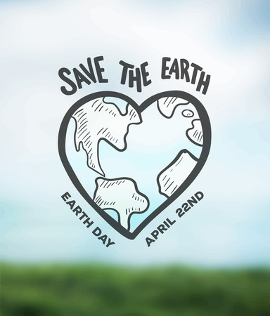 digitally generated: Digitally generated Earth day vector Illustration
