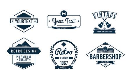digitally generated: Digitally generated Vintage badge vectors
