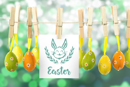 hanging easter eggs against illustration_templates_all