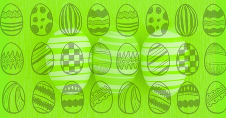 Digital composite of Easter Card