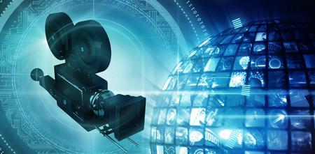 照光式デジタル画面から作られた赤の世界に対する技術インターフェイス